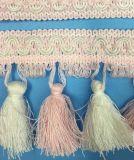 Красочные местных умельцев кружева Tassel для шторки украшения