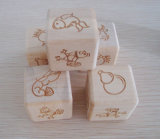 Matrices en bois de grand de 3cm jeu d'animal