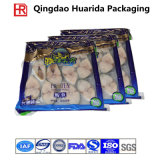 FDA ordnen kundenspezifischen Fastfood- lamellenförmig angeordneten Plastikverpacken- der Lebensmittelbeutel