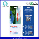 주문을 받아서 만들어진 PVC 플라스틱 카드는 절단 공장을 정지한다