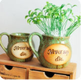 Copo de café de porcelana estilo europeu design criativo