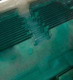 Porte durcie par sûreté Tempered en verre de guichet de Bulding