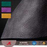Het Materiaal van pvc van het Leer van pvc Stocklot van de lage Prijs voor Dames Hanbags