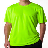 Polyester Guangzhou fabricant 100% T-shirt à manches courtes