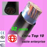 50 pares de cobre sólido al aire libre par Multi cable Teleohone