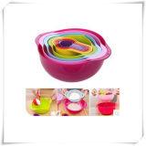 BPA Free 8PCS Rainbow Baking Bowl for Kitchen (VK15024)