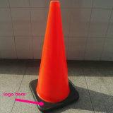 """28 """" orange Unterseite des Verkehrs-Kegel-W/Black (CTN von 5), 7 lbs"""