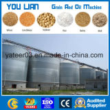 100 Ton a 2000ton Flat Bottom Steel Grain Silo