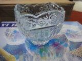 Ciotola Sdy-F01596 della cristalleria permessa liquido poco costoso libero della ciotola di vetro