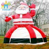 Nuova decorazione gonfiabile esterna il Babbo Natale di natale