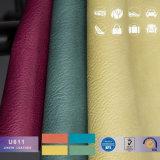人のブリーフケースのUesd PVC総合的な革材料