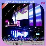 Pantalla de aluminio del braguero de la etapa del LED (aleación 6061 / T6 o 6082 / T6)