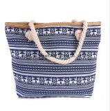 Fashion New Handmade Handmade Handbags Maim Rope Sac de plage Sac à grande capacité Mummy Sac à bandoulière neuf