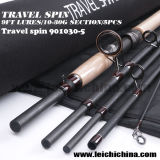 Vente en gros 9ft Lure 10 - 30g Travel Spinning Fishing Rod
