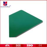 Alucoworld materiales seleccionados de aluminio con recubrimiento PVDF ACP Placa compuesta