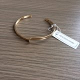 De de eenvoudige Armband/Armband van het Metaal met de Juwelen van de Manier van de Steen