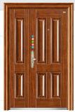 高品質の鋼鉄ドアの安全鋼鉄ドアの振動ドア(Fd531)