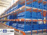 De fluxo contínuo de paletes para soluções de armazenamento de dados do armazém