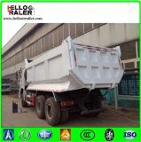 Carro de vaciado diesel resistente del camión de Sinotruk HOWO 30ton 6X4 25m3