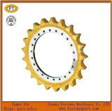 Cerchio della ruota dentata dell'attrezzo dei pezzi di ricambio del telaio del bulldozer dell'escavatore di KOMATSU del trattore a cingoli