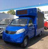 トラックの小さい可動装置のLED表示手段を広告する4つの車輪屋外LED