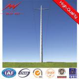 132kv escolhem a torre de aço da transmissão de potência da câmara de ar do circuito