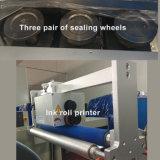 Der automatische Fluss machte Wischer-Tuch-Verpackungsmaschine naß
