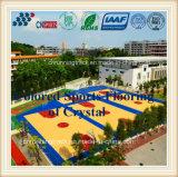 De duurzame Bevloering van het Basketbal van het Kristal voor het Stadion van Sporten