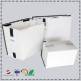 Custom DSC / Stackable Tote PP Caixa de armazenamento oca caixa de embalagem de plástico