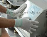Nylon перчатка работы с костяшкой окунула PU (PN8110)