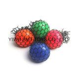 65mm juguetes de plástico Squeeze Squish emergente bola bola Bola de uva Juguetes