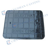 En124 C250 Medium Duty Dutile Iron Manhole Cover