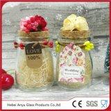 Kruiken van het Suikergoed van het Glas van het huwelijk de Decoratieve Gift Gepersonaliseerde
