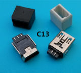 90程度5 Pin小型USBの女性ジャック