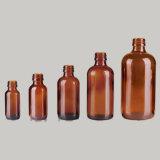 Qualitäts-bernsteinfarbige Glastropfenzähler-Flaschen, Glasflasche Boston-Eliquid (NBG06)