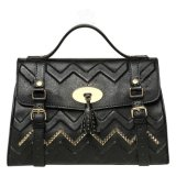 Novo design de alta qualidade moda ombro sacos bolsas de couro (LDO-160969)