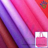 80g красит ткань PP Spunbond Nonwoven для мешков рекламы