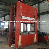 Frame / columna de goma de vulcanización de prensa (con Auto PLC de control como su petición)