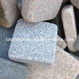 안뜰을%s 중국 Natural Tumbled Granite Cobblestone Pavers, Driveway 의 정원