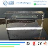 Dekoration-freier Raum bereifter fester transparenter Glasblock für Glaswand