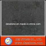 Encimera Polished de la losa del azulejo del mármol negro (DES-MT018)