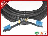 IP68 impermeabilizzano il connettore FULLAXS al cavo esterno ottico duplex della fibra di singolo modo OS2 di LC