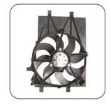 A ventoinha do radiador automático de alta qualidade para a Renault