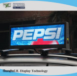 Segno LED del tetto del tassì P5 gestito da 3G/GPS/WiFi