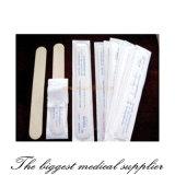 Détection de languette en bois jetable stérile