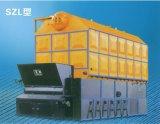 Caldera de vapor de pellets horizontales de madera de biomasa