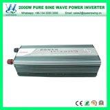 Invertitore puro di potere di onda di seno di DC48V AC110/120V 60Hz 2000W (QW-P2000)