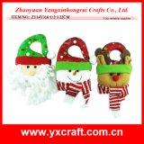 Decoración de Navidad (ZY14Y316-1-2-3) Navidad de la manera decoración estatua del jardín
