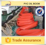 Color와 Oil 밝은 Resistant Solid Float PVC Oil Boom