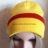 Gorrita tejida del invierno del bordado y sombrero de encargo de encargo de la manera de los deportes
